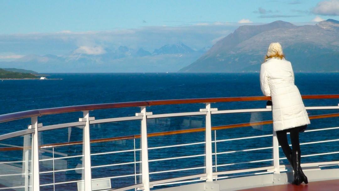 Kreuzfahrt an Deck