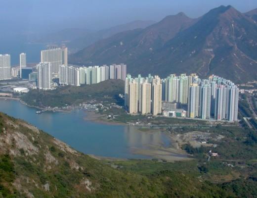 Wohntürme auf Lantau