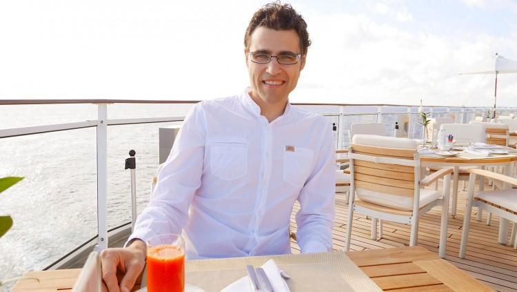 Yacht Club Restaurant auf MS Europa 2