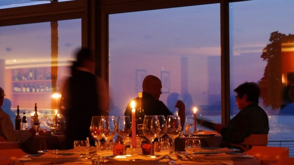Abendessen im Hotel Val di Sogno - Gardasee