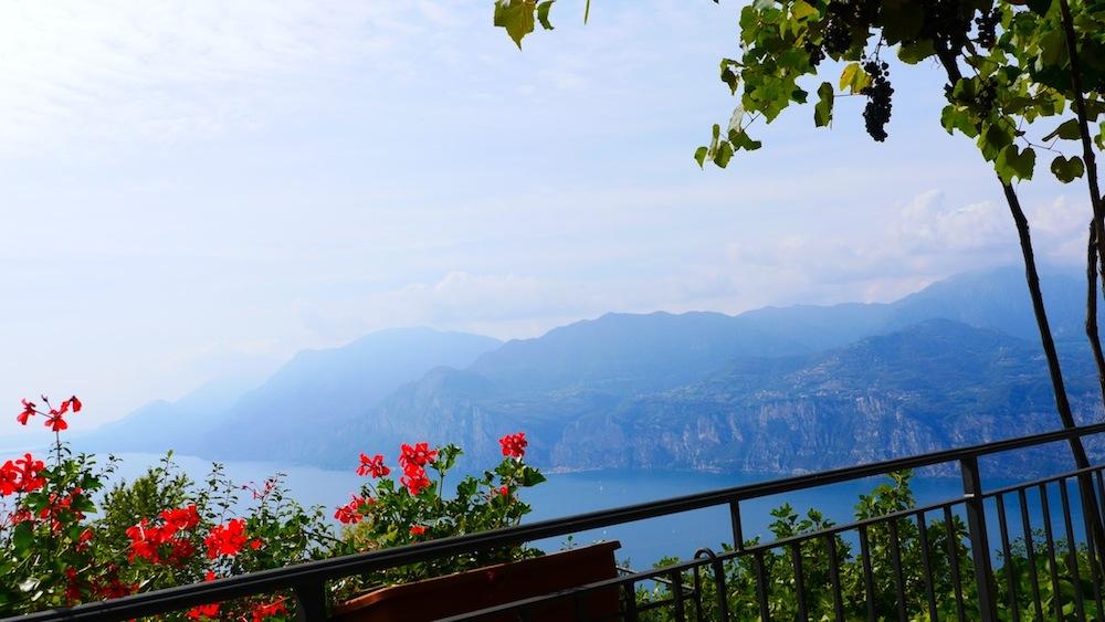 Blick vom Monte Baldo auf den Gardasee