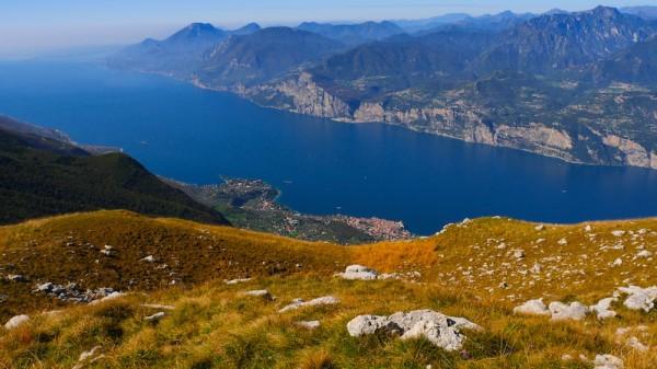 Aussicht über den Gardasee vom Monte Baldo