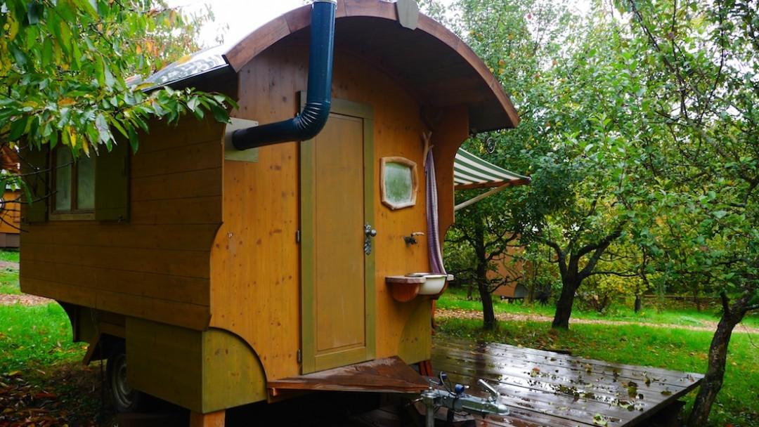 Schäferwagen von Matthias Fahl aus Leinach, Foto: ReiseWorld