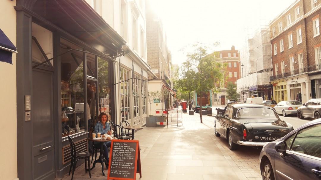 Ein Tag in London in Belgravia