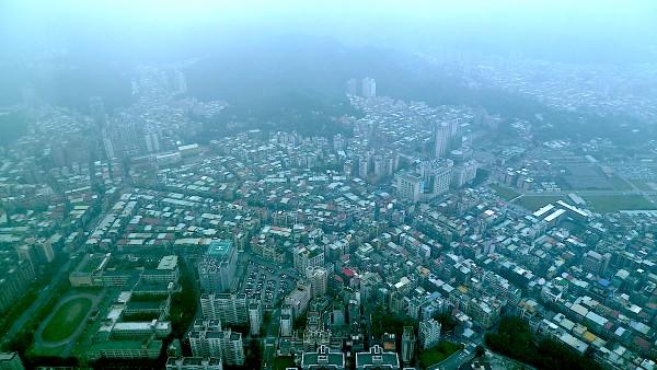 Aussicht vom Taipeh 101