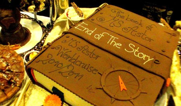 Die Weltreise geht so langsam zu Ende ... mit einem neuen tollen Kuchen!