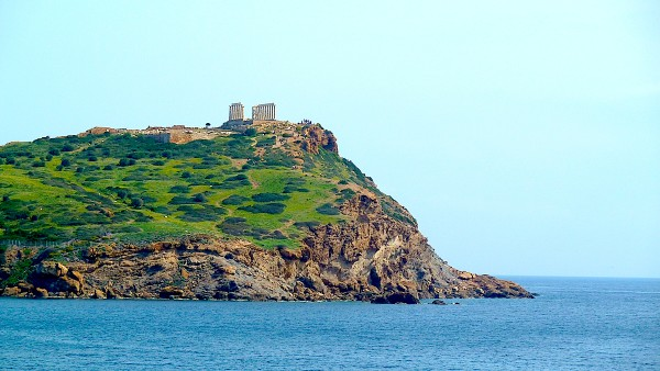 Der Poseidontempel am Cap Sunion